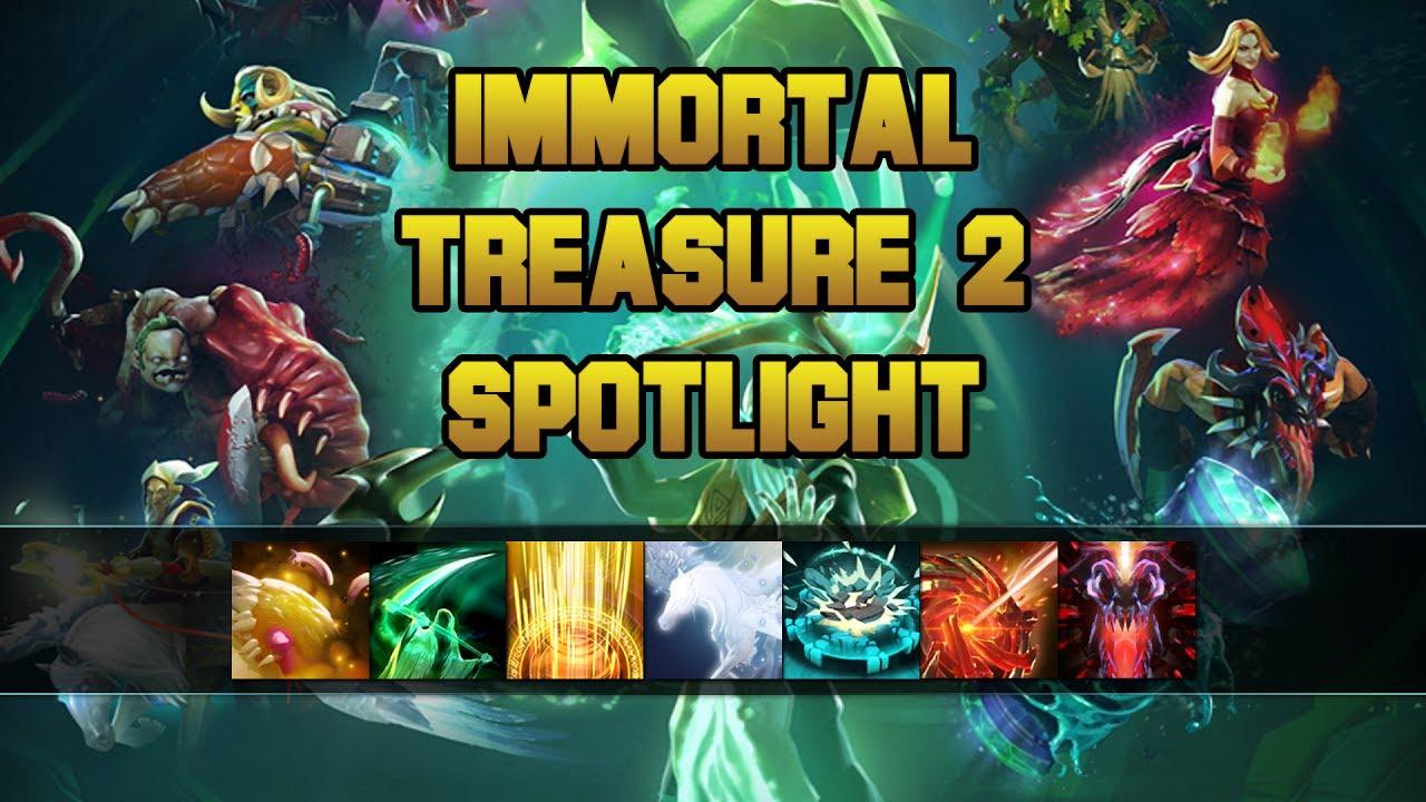 New Dota 2 Immortal Treasures Drop In: Immortal Treasure 2 Spotlight