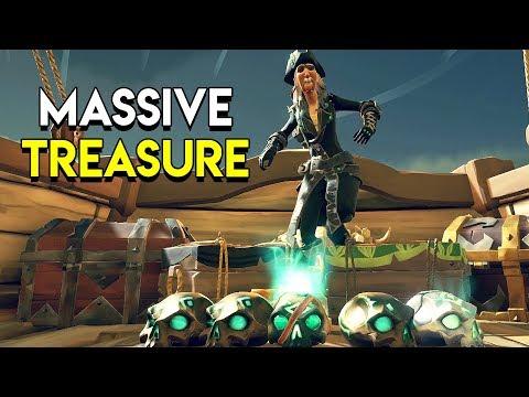 MASSIVE TREASURE! - Sea of Thieves
