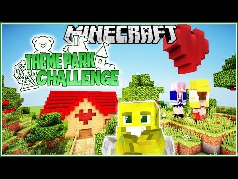 The Lizzie & Joel Romance Cruise! | Minecraft Theme Park Challenge | Ep.6