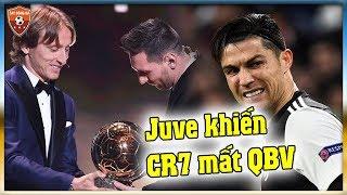 Juventus đã khiến Ronaldo mất Quả Bóng Vàng ?