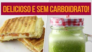 CAFÉ DA MANHÃ SEM CARBOIDRATO! | Receitas Fitness Fáceis para começar a semana!