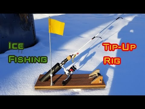 DIY Ice Fishing Tip-Up RIG