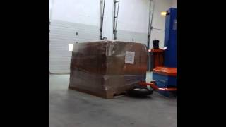 Intelli-Wrap in action! this is our 2nd gen Robot Wrapper