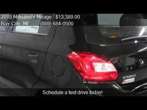Mitsubishi Motor 2018 Mitsubishi Mirage Es Hatchback Cvt