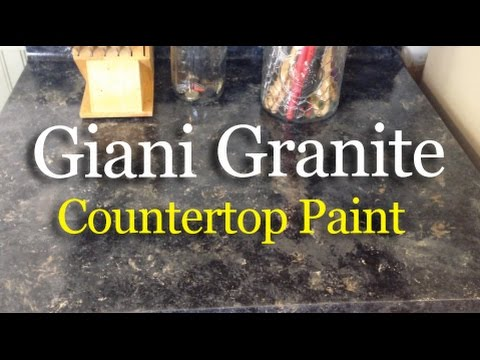 Giani Granite Countertop Paint Review Youtube