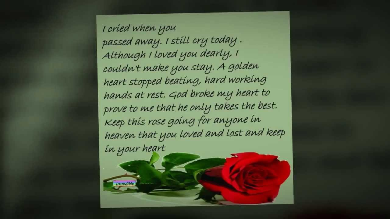 Missing My Mom In Heaven Quotes Birthday Quotes For Mom Who Has Passed Away Best Images About