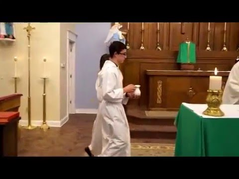 Altar Server Training: Basic Training