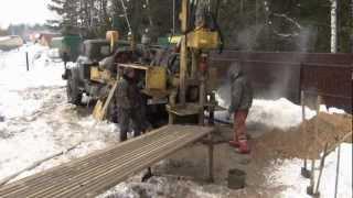 Бурение скважины на воду зимой - ПромБурКом(, 2013-02-19T06:18:14.000Z)
