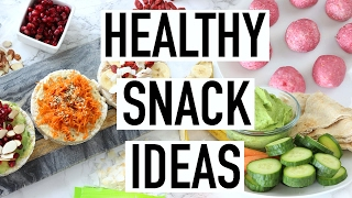 HEALTHY SNACK IDEAS! 3 Easy Healthy Snacks That Are Yummy! Cooking With Liv Ep. 12