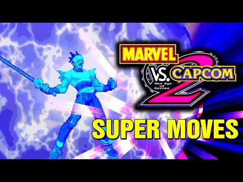 Marvel vs Capcom 2 All Hyper Super Combos Moves Arcade Console Xbox360 Dreamcast PS3