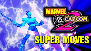 Marvel vs Capcom 2 All Hyper Super Combos Moves Arcade Console Xbox360 Dreamcast PS3
