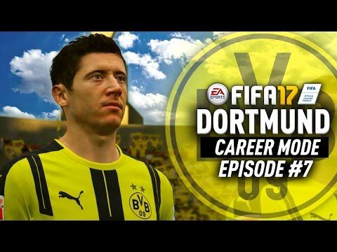LEWANDOWSKI RETURNS FOR FREE!!! FIFA 17 Dortmund Career Mode #7