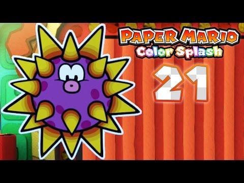 Paper Mario: Color Splash - Part 21: Cobalt Base! - YouTube