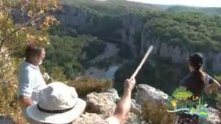Camping Ardèche La Rouveyrolle randonnée pédestre, à vélo, en vtt, équestre