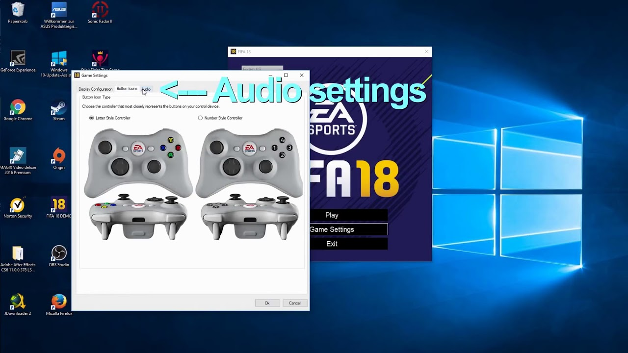 Fifa 18 - How To Change Graphics Settings (On Pc)  Gameskiller 04:08 HD