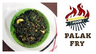How To Make Spinach Stir Fry | Palakura Fry | Palakura Vepudu