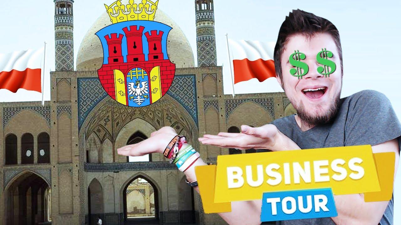 POSTAWIŁEM MECZET W KRAKOWIE! | Business Tour [#1] (With: Dobrodziej, Diabeuu, Plaga)