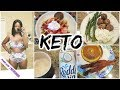 Keto What I eat in a Day to lose Weight!