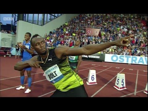 100m Men - Golden Spike Ostrava 2017 - Usain Bolt 10.06 [English]