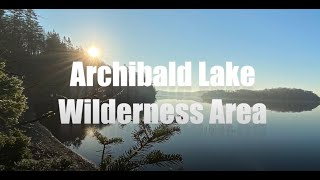 Archibalds Lake Wilderness Area Protection - Sherbrooke Nova Scotia / St. Mary's River Area