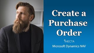 02 -  Create a Purchase Order in Microsoft Dynamics NAV 2015