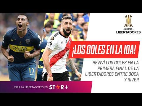 Boca Juniors - River Plate [2-2] | GOLES | Final (Ida) | CONMEBOL Libertadores