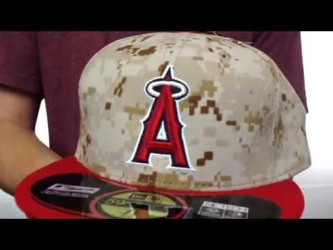 Angels  2014 STARS N STRIPES  Fitted Hat by New Era - YouTube ffa382963e4a