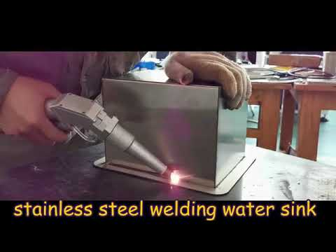 آلة اللحام باستخدام فيبر ليزر 400w لحام المعادن(ستانلس, حديد, المنيوم, فضة, ذهب, برونز, نحاس)
