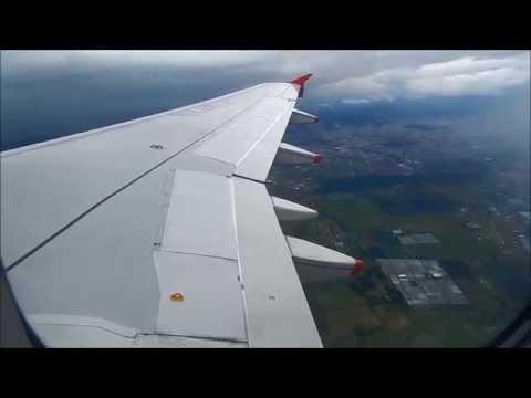 Avianca Airbus A320 N446AV taking off Bogota Vor C 31L