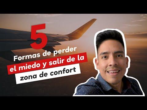 5 formas de PERDER EL MIEDO y SALIR de la ZONA DE CONFORT