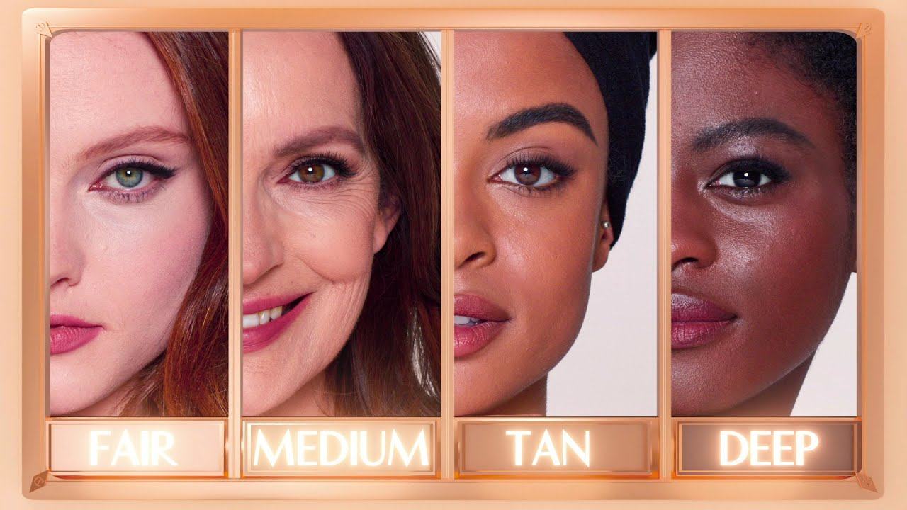 How to Find Your Undertone, Overtone & Foundation Shade   Charlotte Tilbury
