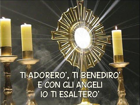 TI ADORERO', con testo, canto di adorazione, Edizioni RnS 2006