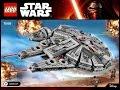 LEGO Star Wars Millennium Falcon 75105 Building Kit Instructions DIY