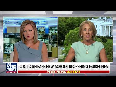 Secretary DeVos: Children's mental health, well-being at risk if they don't return to schools