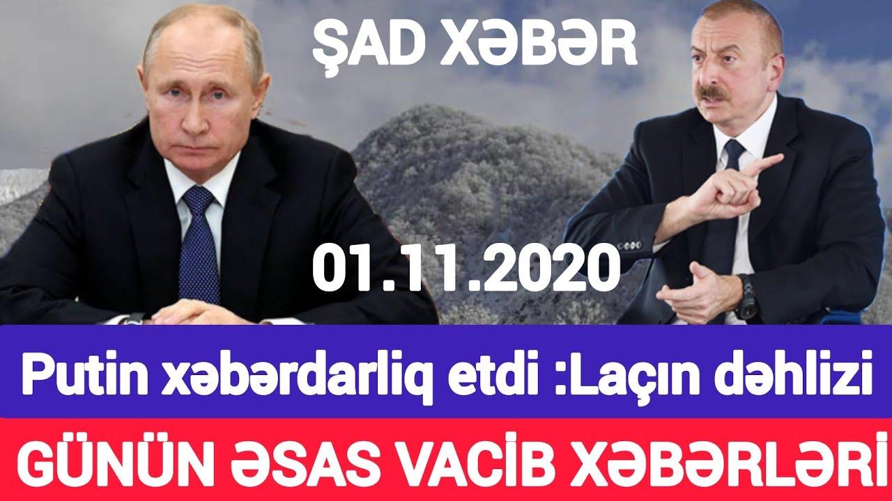 Əsas xəbərlər 01.12.2020 Putin xəbərdarlıq etdi, son xeberler bugun 2020