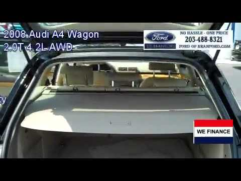 used 2008 audi a4 wagon for sale in ct nav system mint condition youtube. Black Bedroom Furniture Sets. Home Design Ideas
