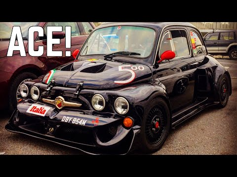 I Go From a 250 BHP Abarth 595 to a 85 BHP Fiat 500 At The Ace Cafe London Abarth 500 Meet
