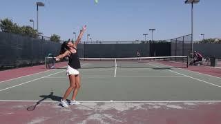 Lauren Nguyen - College Tennis Recruitment Video (fall 2020)