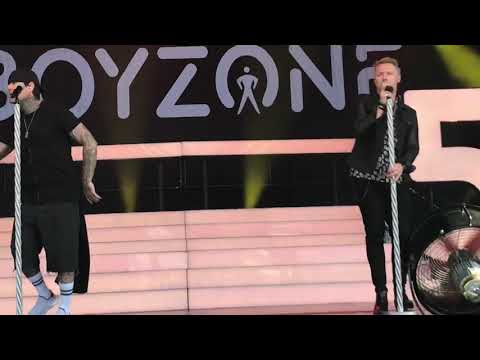 Boyzone When The Going Gets tough York Racecourse 2018