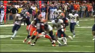 Keith Tandy's Punt Coverage -- HUGE HIT! (2011)