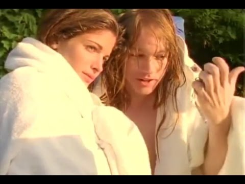 Axl Rose and Stephanie Seymour (compilation of footage)