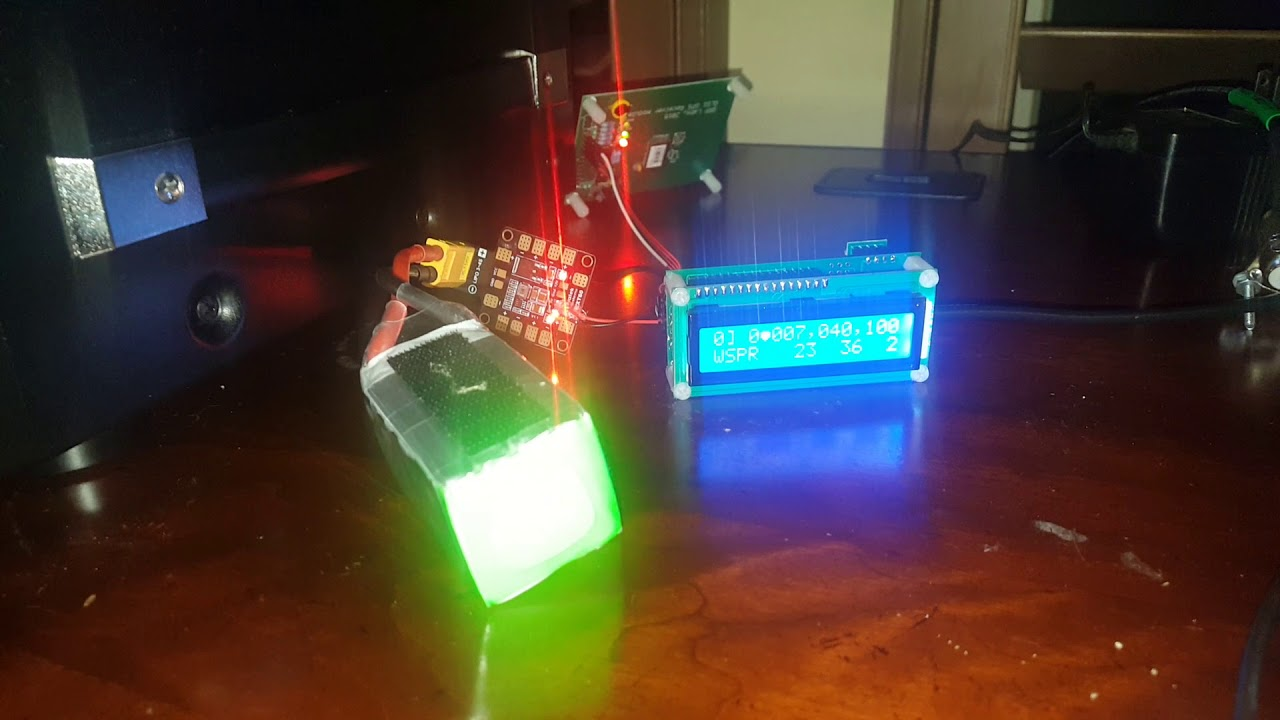 QRP Labs Ultimate 3s WSPR Kit in action