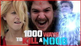 Fight a Psychic POKEMON!! - 1000 Ways to Kill a N00b - #427