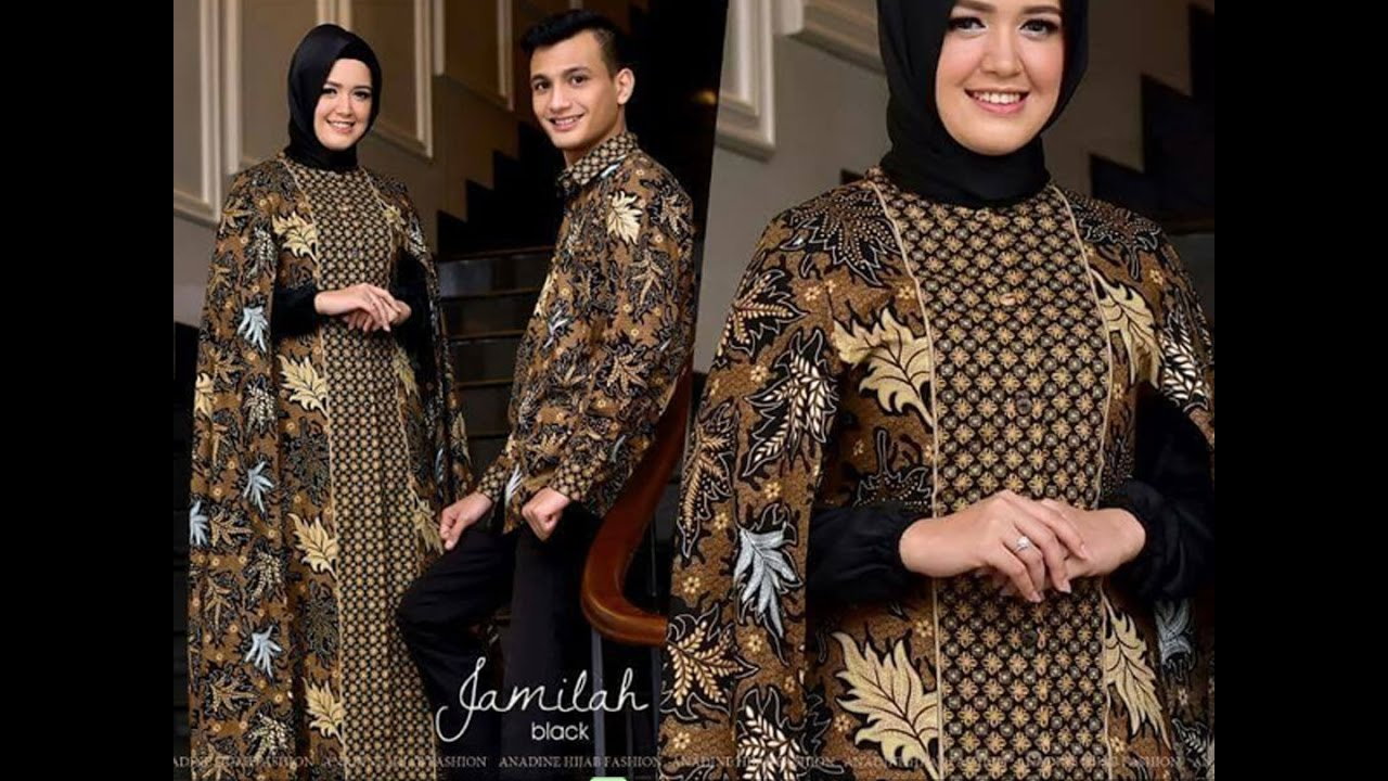 Model Gamis Batik 2017 Dan Mukena Batik Couple Set Baju Koko Limited