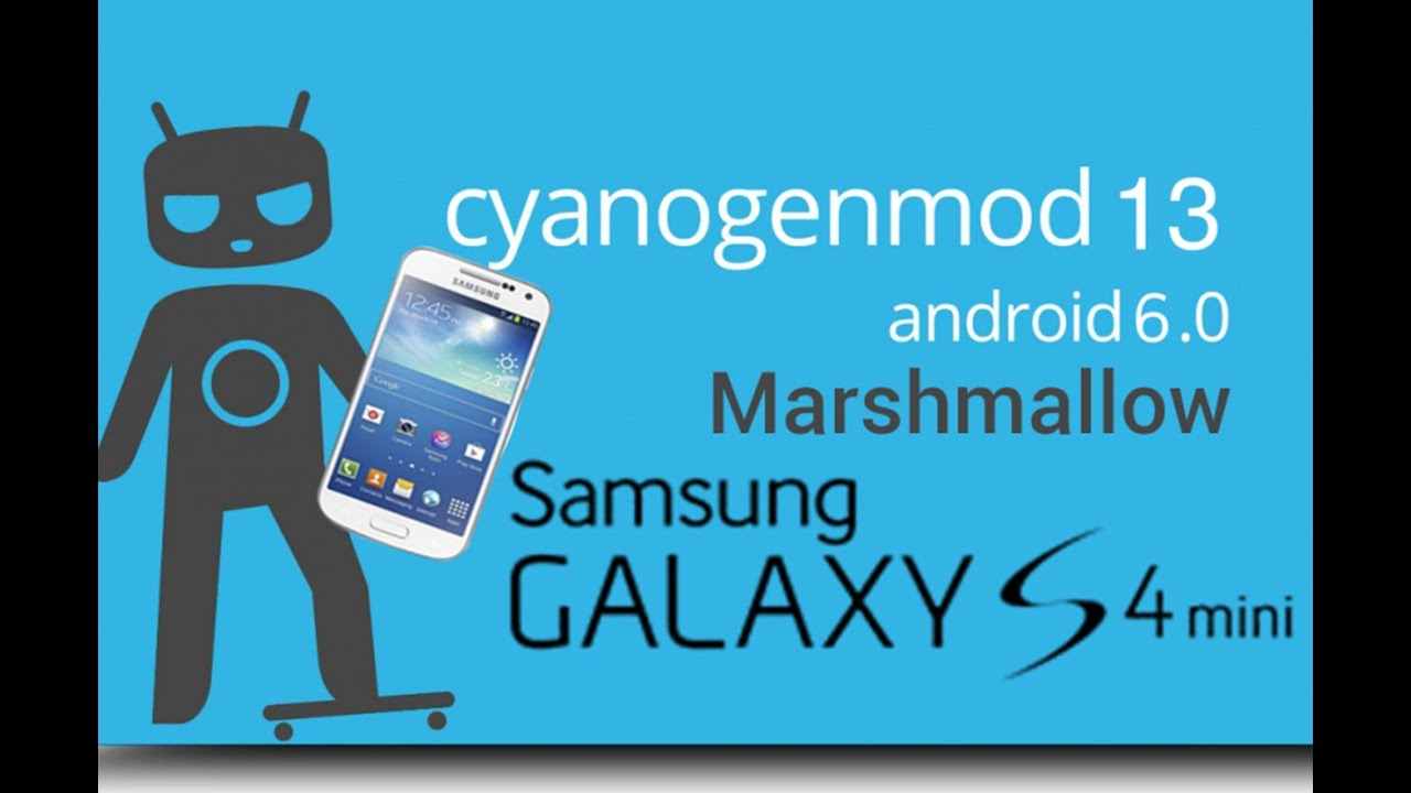 How to root samsung galaxy s4 mini gt i9192 - Cyanogenmod 13 Galaxy S4 Mini Gt I9192 Android 6 0 Marshmallow Pt Br Youtube