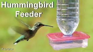 Hummingbird Feeder - How To Make A Hummingbird Feeder