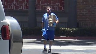 Adam Sandler Is UNRECOGNIZABLE At The Grocery Store In Malibu On The Fourth Of July