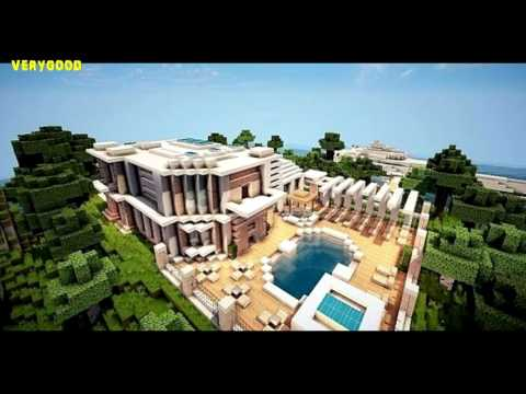 minecraft modern house best of youtube - Biggest Minecraft House In The World 2016