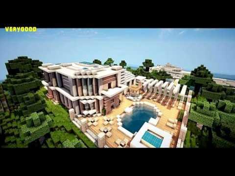 Minecraft Modern House Best of 2016 - YouTube