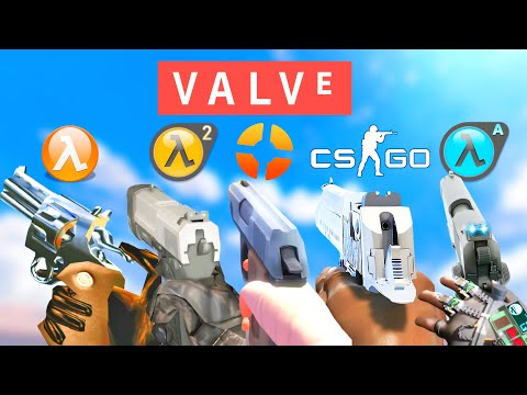 Valve Games - All Weapon Reload Animations |